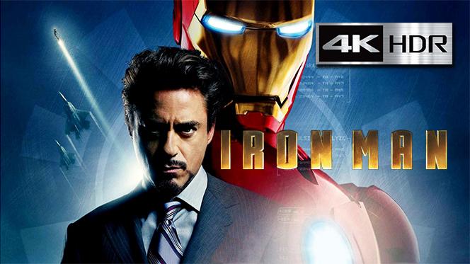 Iron Man: el Hombre de Hierro (2008) 4K UHD [HDR] Latino – Ingles