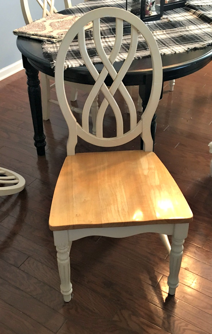 Vintage, Paint And More... How To Upholster A Wood Chair Seat Using