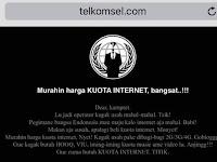 Ada Netizen Dukung Pembobolan Situs Telkomsel Melalui Tagar Telkomnyet