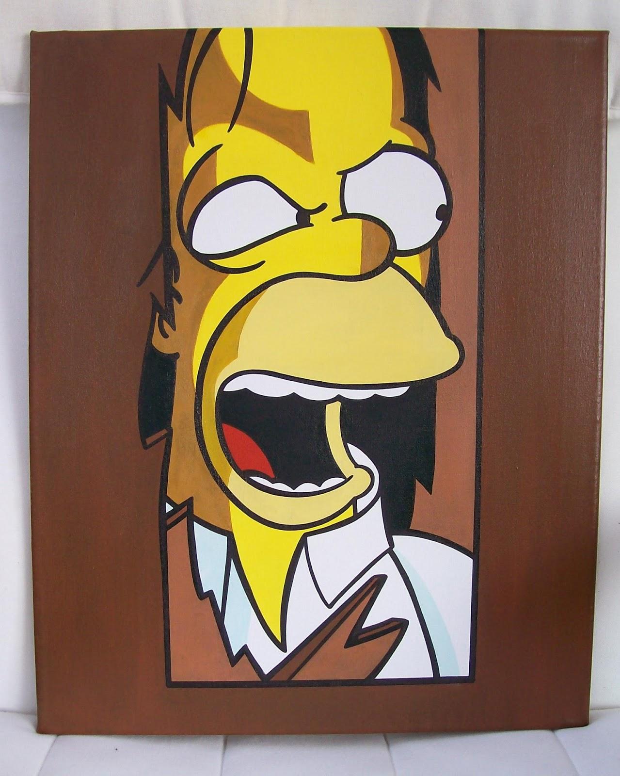 Homer Simpson The Shining