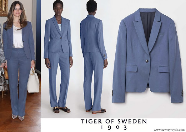 Princess Sofia wore Tiger of Sweden Tessan Suit