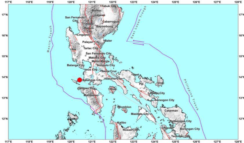 Magnitude 5.7 earthquake jolts Luzon, Metro Manila on September 27, 2021
