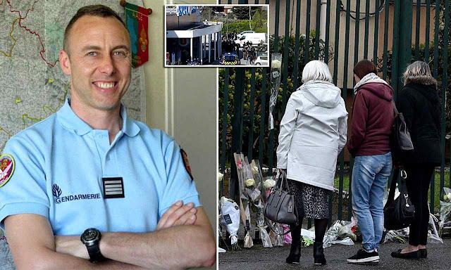 A morte do oficial de gendarmaria Arnaud Beltrame num lance heroico contra o terrorismo chacoalhou a França adormecida pela mediocridade