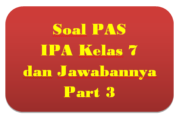 100+ Soal PAS IPA Kelas 7 dan Jawabannya I Part 3