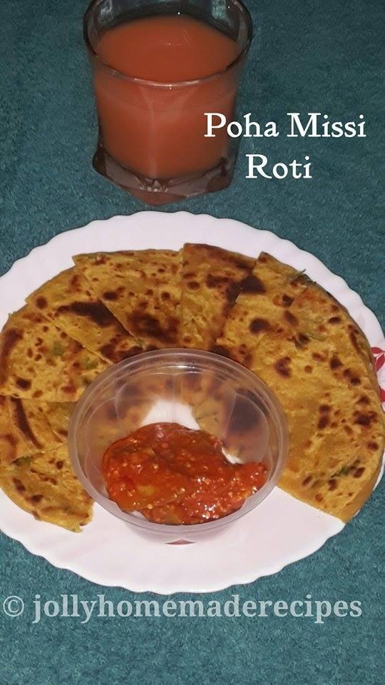 Punjabi Missi Roti