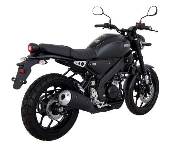 Yamaha XSR 155 Black Belakang