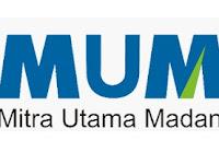 Lowongan Kerja PT. Mitra Utama Madani (MUM) - Penerimaan Karyawan (SMA/D3) Agustus 2020