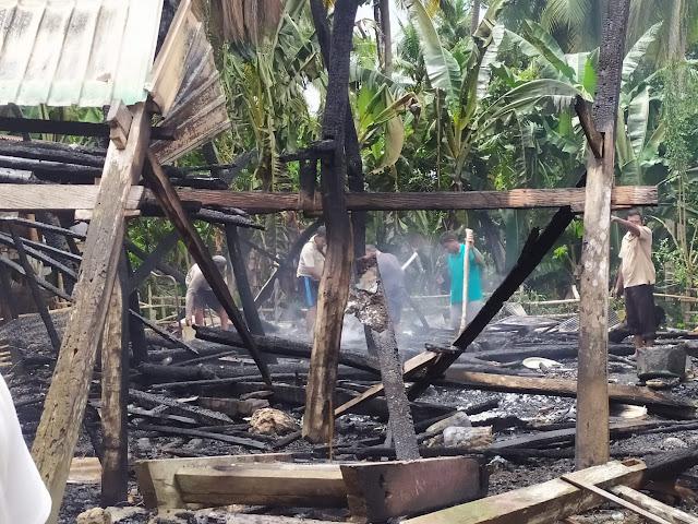 Kebakaran di Kaburu Hanguskan 1 Unit Rumah, Begini Kronologinya