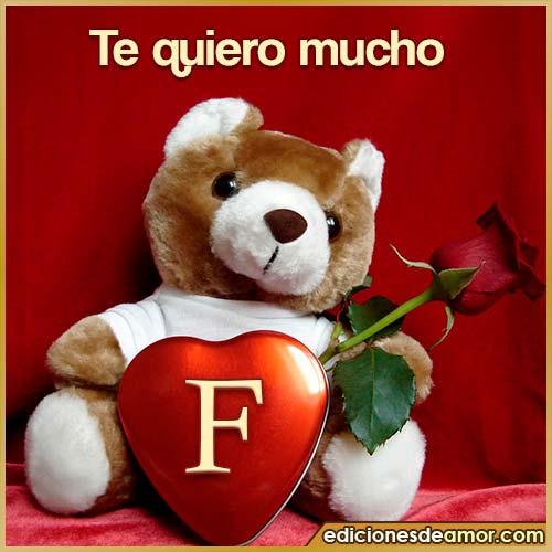 te quiero mucho F