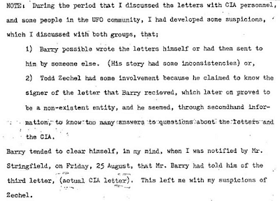 NSA Memo (Snippet 1) Re MUFON Conference - 1978