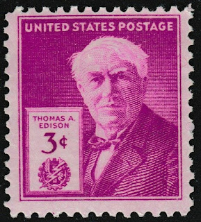 Thomas A Edison 3c single