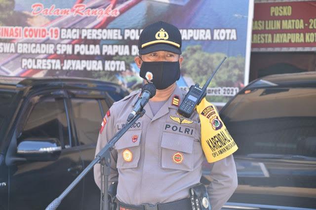 AKP Langgeng Widodo Katakan Hari Raya Idul Adha Kota Jayapura Dipastikan Kamtibmas Tetap Kondusif