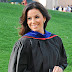 Stellar graduate: Eva Longoria received a master's degree