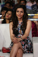 Kyra Dutta in a Deep neck Small Dress at Shamanthakamani pre release function ~  Exclusive 087.JPG