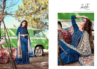 Levisha Shikha Pashmina Winter Salwar Kameez Collection