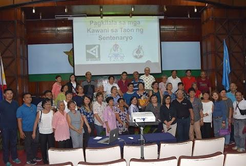 Pagkilala sa mga Kawani sa Taon ng Sentenaryo