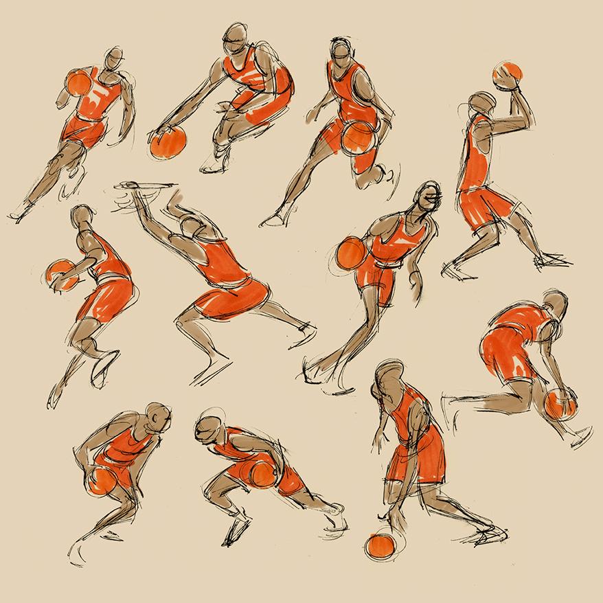 Wouter Tulp | Illustrator |: Gesture drawings
