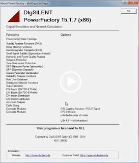 DigSILENT Power Factory v15.1 Full Version Crack