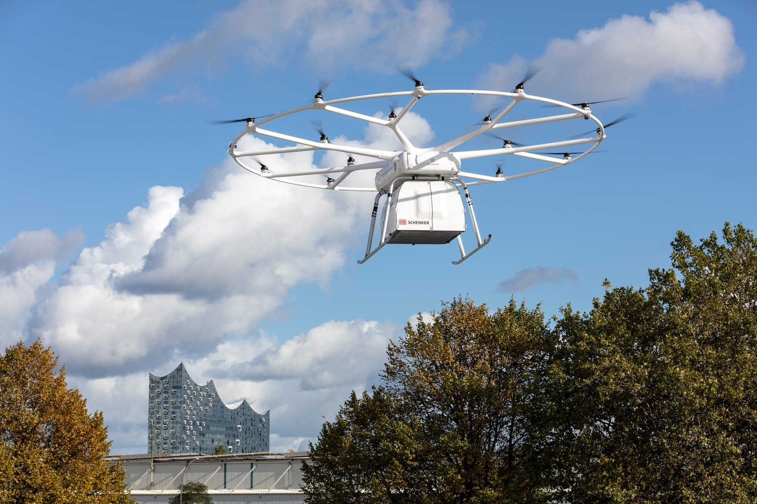 Successful First Public Flight of Volocopter's VoloDrone