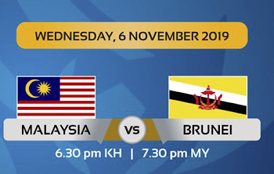 Live Streaming Malaysia U19 vs Brunei U19 AFC Qualifiers (6.11.2019)