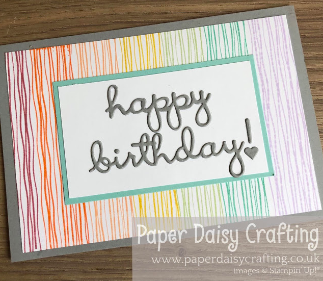 Nigezza Creates with Stampin' Up! & Paper Daisy Crafting & Lilly Pad Lake