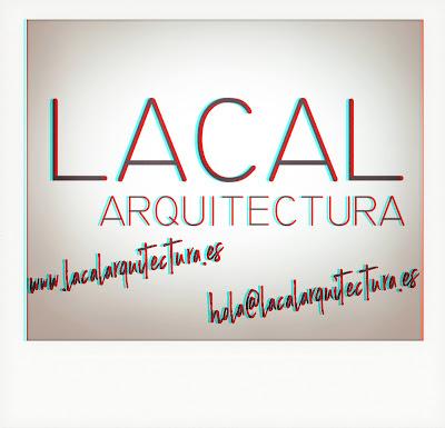 LACAL arquitectura. Arquitectos Granada. Logo. Javier Antonio Ros López, arquitecto. Daniel Cano Expósito, arquitecto.
