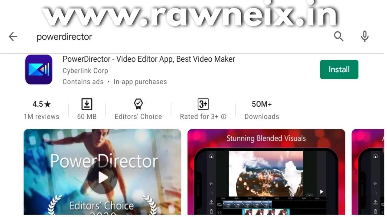 PowerDirector Video Editor App, Best Video Maker