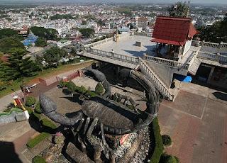 скульптура скорпиона Тайланде (Мэ-Сай)