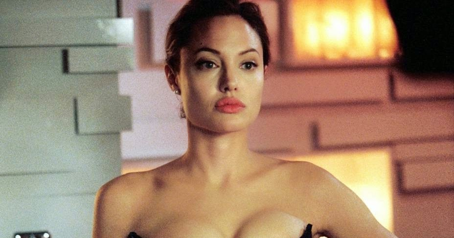 Angelina Jolie Femdom