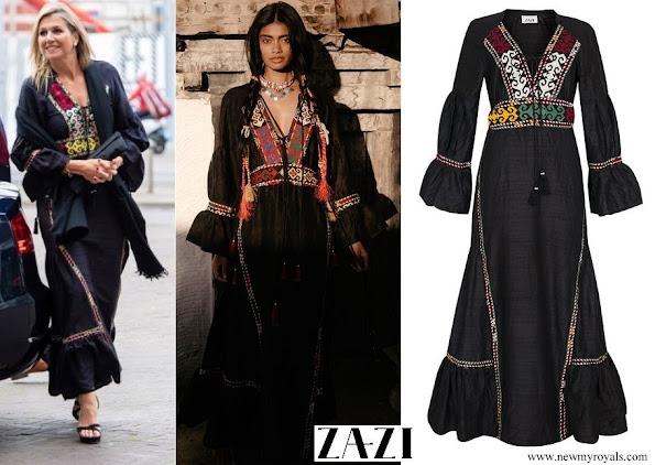 Queen Maxima wore Zazi Lakai Dress