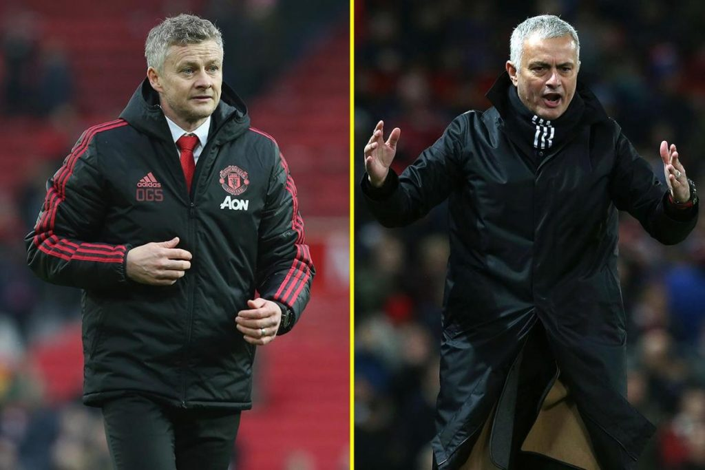 EPL: Mourinho mocks Solskjaer ahead of Tottenham vs Man Utd clash