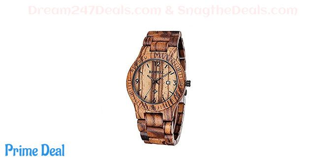 70% OFF Hstyle Adult Wooden Watches