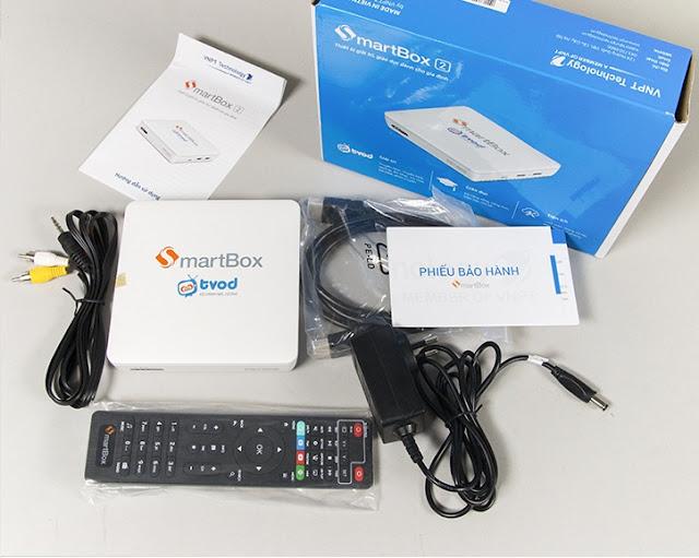 Mua thiết bị SmartBox 2 ở tại Hà Nội của VNPT Technology thật đơn giản