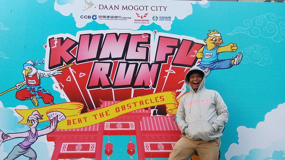 adetruna di event charity KUNGFU RUN 2017 Daan Mogot City