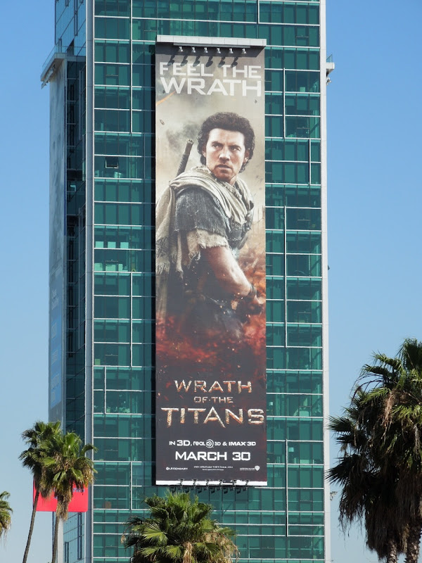 Sam Worthington Wrath of the Titans ad