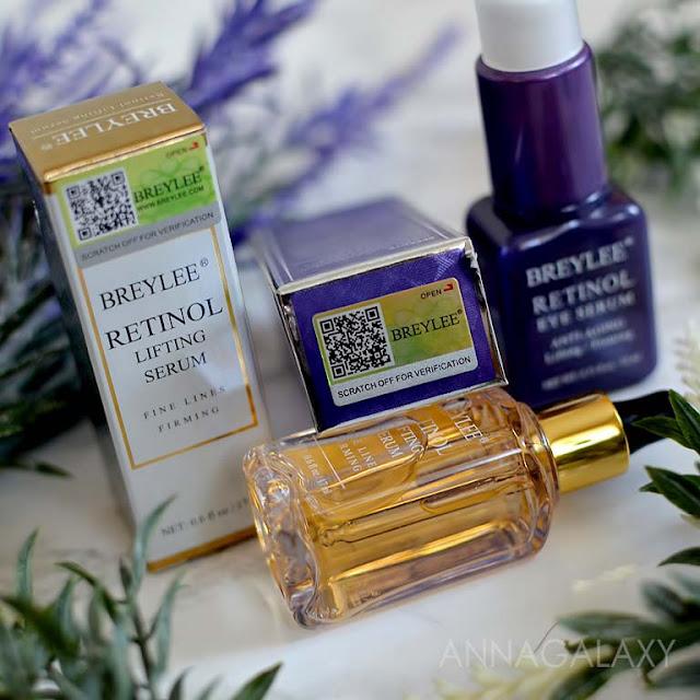 Добротная упаковка Breylee Retinol Serum
