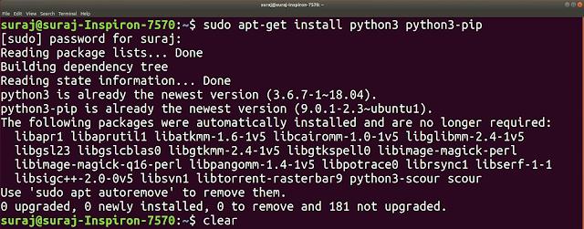 Python Module Not Found Error : No Module Named Numpy In