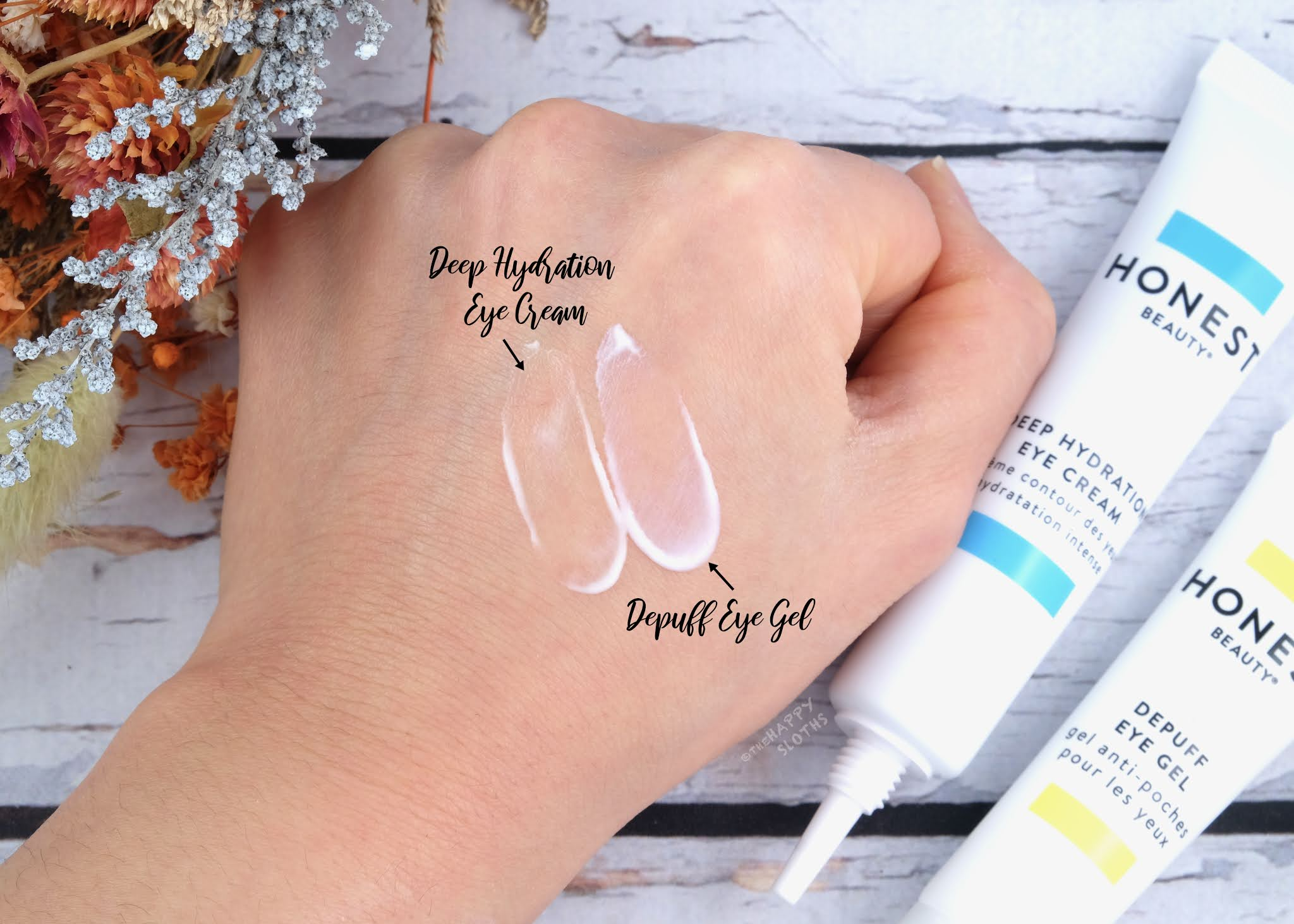 Honest Beauty | Deep Hydration Eye Cream & Depuff Eye Gel: Review