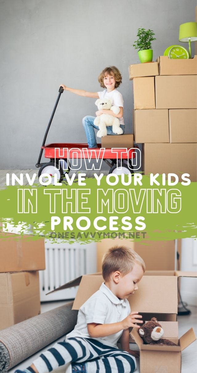 Easy Tips For Moving with Kids