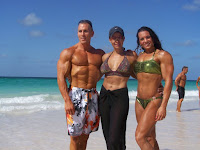 A variety of Female bodybuilding