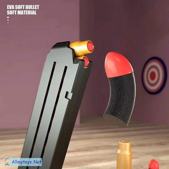 Colt 1911 Shells Ejecting Realistic Toy Gun 6