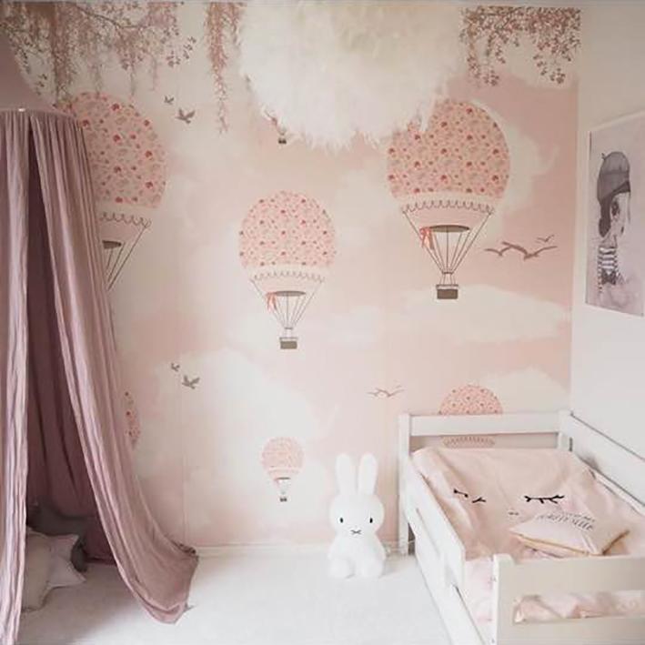 Little hands little hands wallpaper - Habitacion bebe papel pintado ...