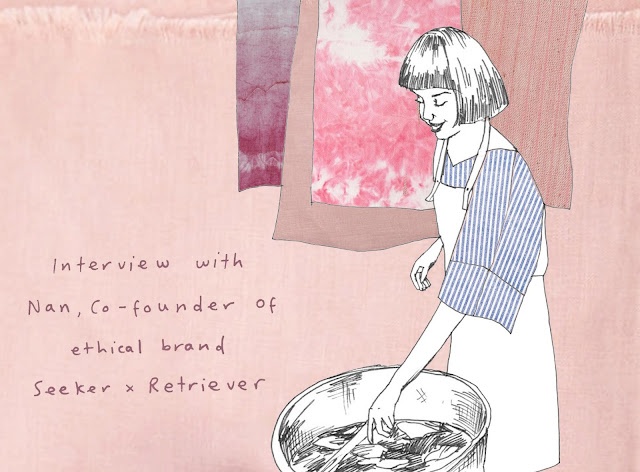 Interview with Nan, Co-founder of ethical brand Seeker x Retreiver