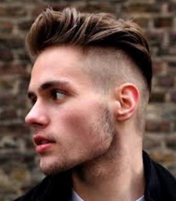 potongan model rambut tipis samping pria 2016