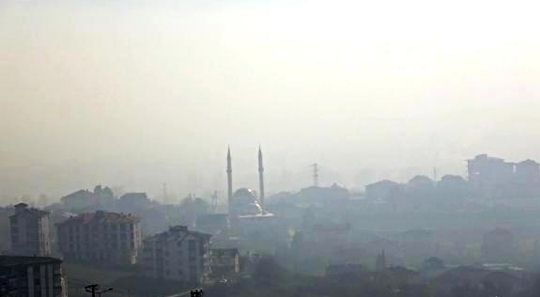 Air pollution reached the worst level in Duzce, it is hard to even breathe now