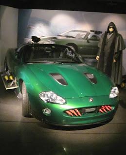 Zao & his green Jaguar.