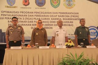 Pemetintah Kota Cirebon Nyatakan Perang Terhadap Narkoba
