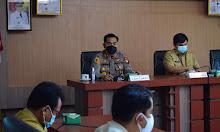 Rapat Evaluasi Satgas Covid-19 Kabupaten Sekadau, Simak Apa Saja Pembahasannya