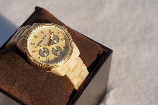 Girly en Geeky: New in: Michael Kors horloge!