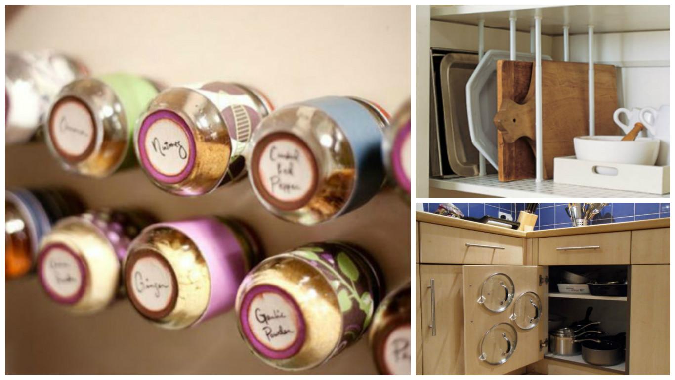 10 tips para ahorrar espacio en tu cocina de manera fácil ...
